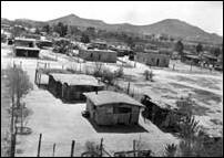 Pascua Yoeme community circa 1938, photograph courtesy of the Southwest Center, The University of Arizona