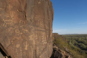 Photograph of a Sears Point petroglyph panel courtesy of Aaron M. Wright