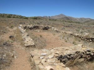 Doug Hocking photograph of some archaeological features at the Overland Mail Station site at Apache Pass, Arizona.
